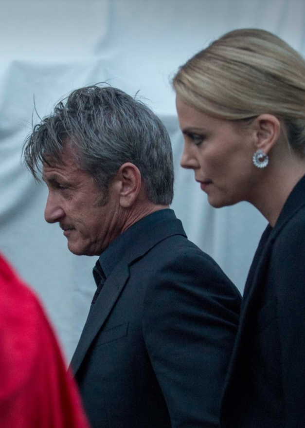 Sean Penn and Charlize Theron photos taken in Vienna. Last photo where their were together