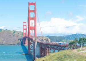 Golden gate bridge San Francisco landscape